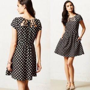 ANTHROPOLOGIE Maeve nikola polka dot dress